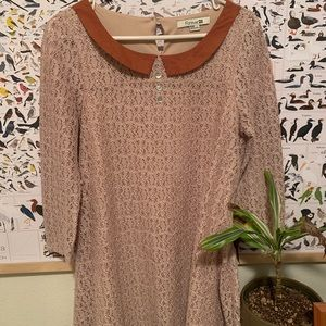 Crochet Peter Pan Dress